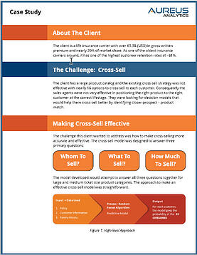 Optimizing Cross-Sell Efficiency