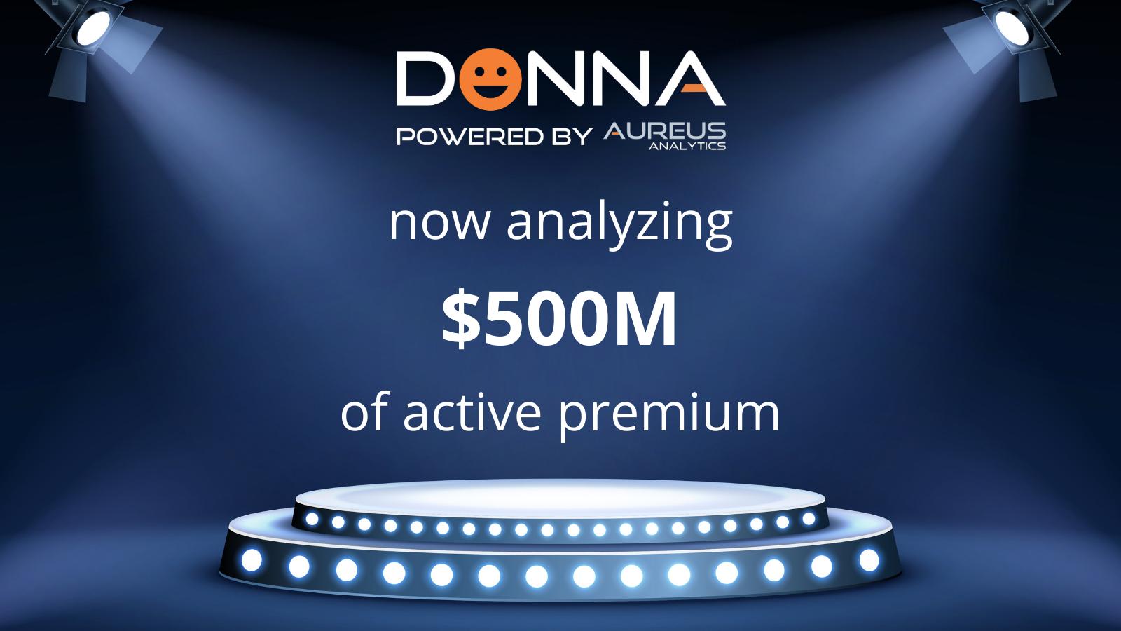 DONNA Milestone $500M (1)