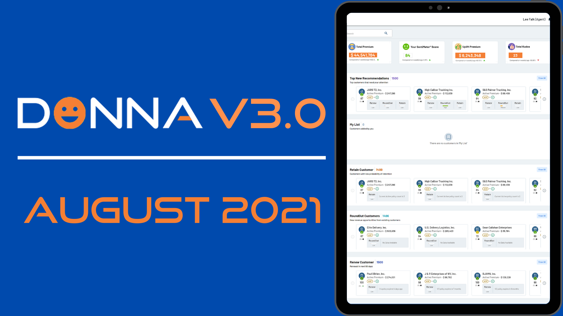 DONNA V3.0 Announcement