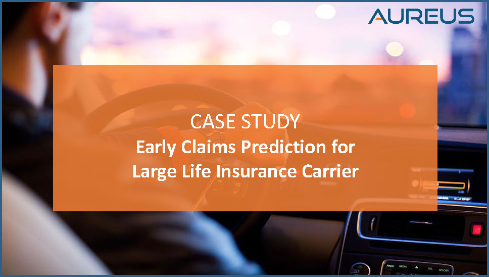 Early Claims Prediction Case Study