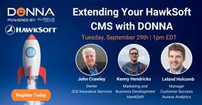 Extending Your HawkSoft CMS with DONNA Webinar