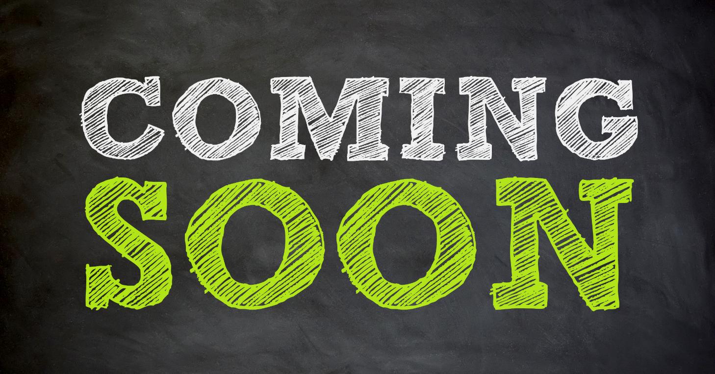 Next Webinar - Coming Soon